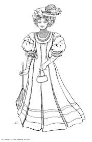 lovely victorian coloring pages 37 picture coloring