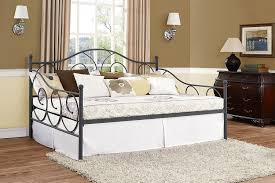 daybed dimensions ira design amazon com dhp victoria full size metal daybed pewter kitchen dining