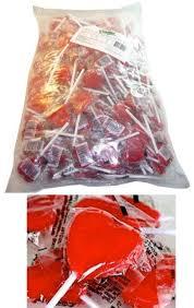 red heart lollipops 100 pcs 18g pops lollies candy buffet wedding