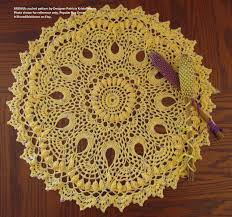 Crochet Patterns For Home Decor Brenna Doily Pdf Crochet Doily Pattern Patricia