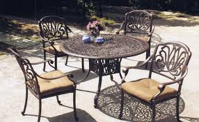 Aluminum Patio Tables Chic Cast Aluminum Outdoor Dining Sets Cast Aluminum Patio Table