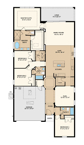 elmhurst 2car floor plan at the enclave at channing park in lithia