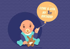 1st birthday free vector art 1444 free downloads