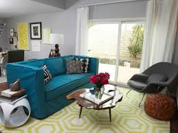 Blue And Yellow Home Decor by Cute Blue And Yellow Living Room For Your Small Home Decor