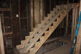 2 Step Stair Stringer by Marking Time Two Flat Remade