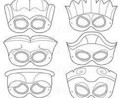 printable lizard mask template boys career printable coloring mask careers police fireman