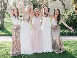 after six bridesmaids an amazing bridal party look without killing the budget