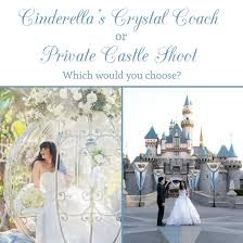 cinderella s coach coach or castle photo shoot which one would you choose