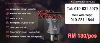 titan gel di malaysia koleksi ubat kuat lelaki terbaik