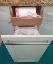 Hidden Trash Bag Storage Via Atticmag I Have Tried To Find The - Kitchen cabinet garbage drawer