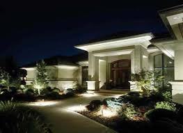Modern House Lights Valuable 3 Modern Outdoor House Landscape