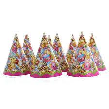 party hats shopkins party hats 8ct walmart