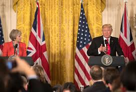 trump and may address russia and brexit video nytimes com