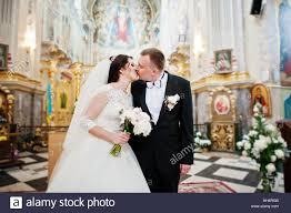 wedding registration happy smiled wedding after wedding registration on church