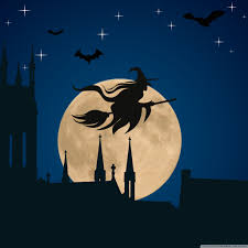 halloween wallpapers for android halloween witch flying hd desktop wallpaper widescreen high