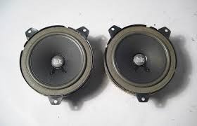 bmw e46 hk harman kardon front door speakers woofers 1999 2006 oem