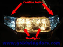 Position Light How To Replace Your Front Position Light Bulbs U2022 Gl1500 Diy