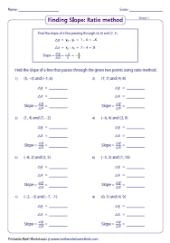 collection of solutions slope and y intercept worksheets for cover