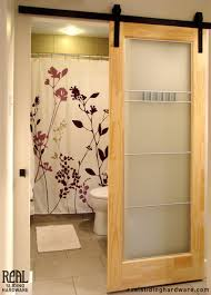 Barn Style Door Hardware How To Build Sliding Barn Door by Bathrooms Design Diy Sliding Barn Door For Bathroom Ideas