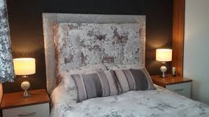 upholstered headboard with memory foam glitter and crushed
