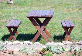 how to build a round picnic table and benches ebay
