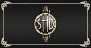 shannon and daryl art deco wedding invitations and website steve