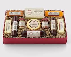 summer sausage gift basket with 4 boys hickory farms provides gift ideas this