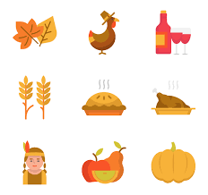 best thanksgiving icon packs from flaticon