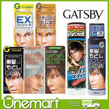 best otc hair bleach qoo10 gatsby hair bleach hair colour dark brown natural black