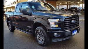 ford f150 supercab xlt 2017 black ford f 150 4x4 supercab xlt sport review prince
