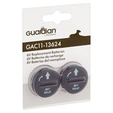 guardian 6 volt replacement batteries 2 pack walmart com