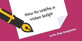 how to write a video script 4 script formats to choose from