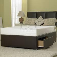 Divan Bed Frames Manresa Divan Leather Bed Base Only Guaranteed Cheapest Free