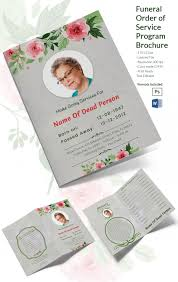 Funeral Program Sample 20 Funeral Program Templates U2013 Free Word Excel Pdf Psd Format