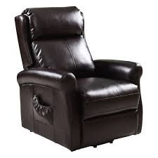Used Lift Chair Recliners For Sale Giantex Brown Recliner Power Lift Chair Living Room Furniture With