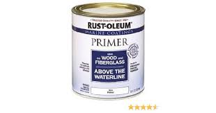 rust oleum 207014 marine wood and fiberglass primer 1 quart
