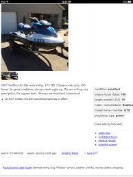 i u0027m about to buy a 2007 sea doo gtx 155 seadoo forums