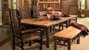 rustic dining room chairs rustic live edge redwood dining table with chairs and awesome