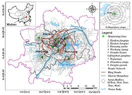Wuhan China Map by Atmosphere Free Full Text Examining The Impacts Of Land Use On