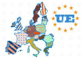 European Union Map Abstract Map Of European Union Vector Image 36199 U2013 Rfclipart