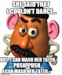 Mashed Potatoes Meme - do the mash potato imgflip