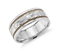 white gold wedding bands for men yellow and white gold wedding rings wedding promise diamond