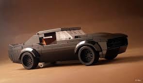 67 camaro wide back in black the lego car
