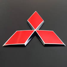 mitsubishi diamond mitsubishi triple diamond badgeskin single