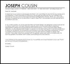 Resume For Architecture Job Landscape Consultant Cover Letter