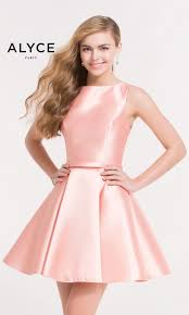 alyce 3704 blush pink short party dress rissyroos com
