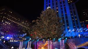 nbc tree lighting 2017 watch the 2017 rockefeller christmas tree is all lit up free online