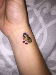 thesemicolonproject my butterfly in memory of my