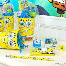 spongebob party ideas spongebob favor cup idea favor ideas spongebob party ideas