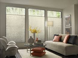 creative windows treatment ideas for living room with modern